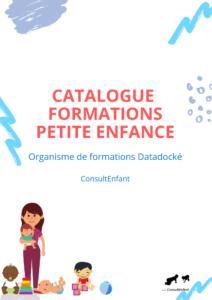 catalogue de formation petite enfance